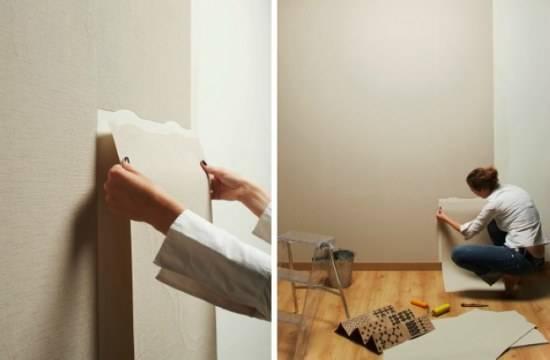 如何干净的撕墙纸?