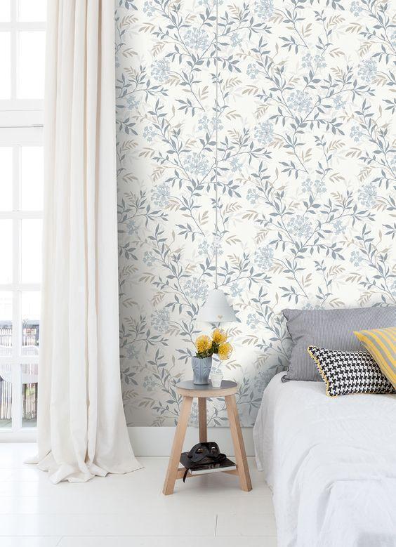 北欧风格的装修适合什么墙纸?