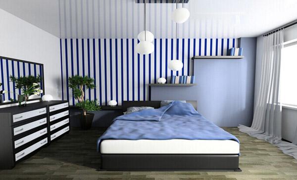 什么样的墙纸会让房间看起来大一些?