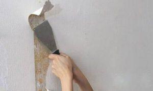 如何将墙上残留的墙纸清除掉?