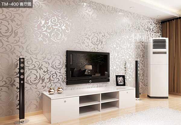 建材类墙纸大地色系的温润感较不易让眼球感到疲劳,同时也是各种风格的百搭款。