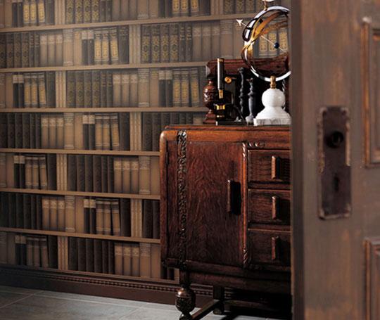 书香气息风格墙纸