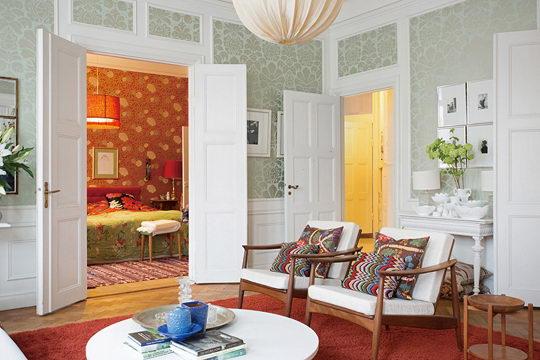 瑞典房仲公司Per Jansson 的出售公寓的墙纸装修效果图