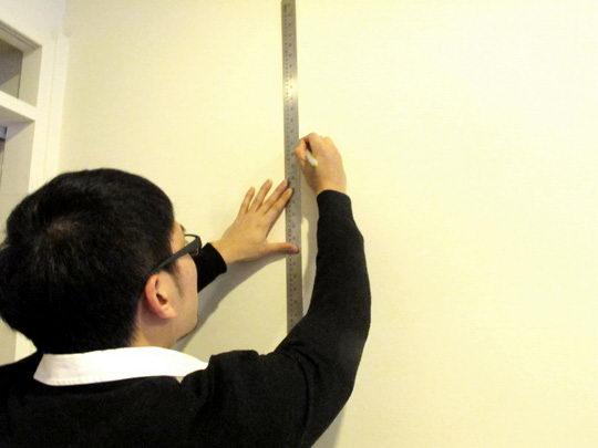 画一条绝对的垂直线可以避免不必要的失误。