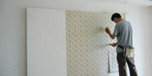 贴出完美墙纸的5个步骤
