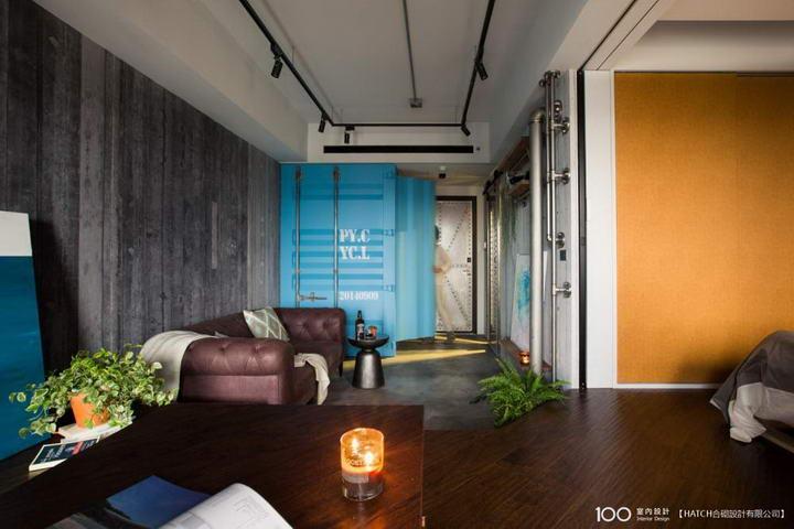 【装修案例效果图】墙布撞色搭配设计,让家里变好看插图(9)