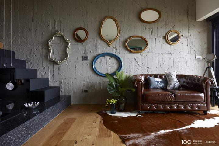 哪些墙面装修材料能够实现水泥质感?插图(1)