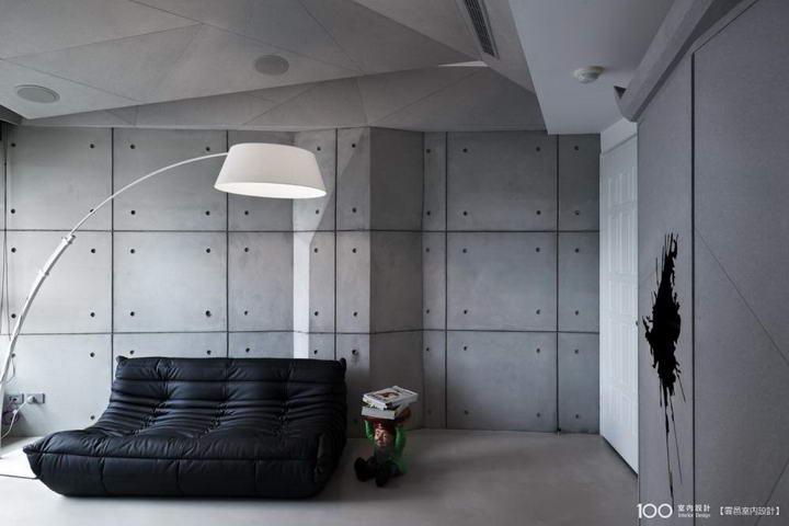 哪些墙面装修材料能够实现水泥质感?插图(2)