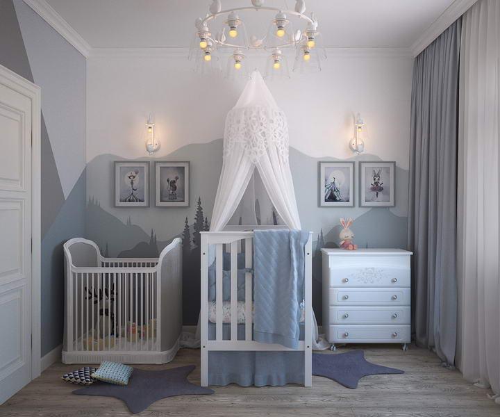 儿童房墙面装修材料如何选:乳胶漆、墙布、墙纸插图1