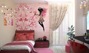 儿童房墙面装修材料如何选:乳胶漆、墙布、墙纸插图