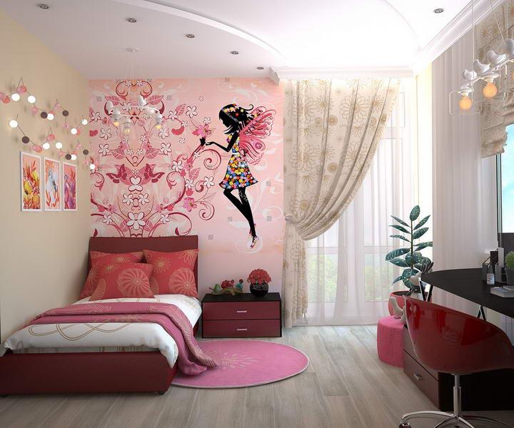 儿童房墙面装修材料如何选:乳胶漆、墙布、墙纸插图2
