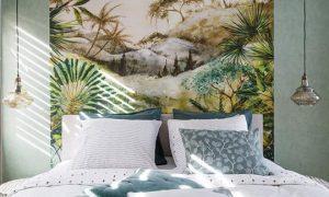 利用墙纸将家装修出热带海岛渡假风缩略图