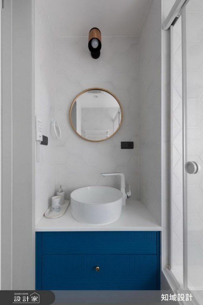 简单材料也能装修出好的风格:蓝与灰自由切换北欧风插图(10)