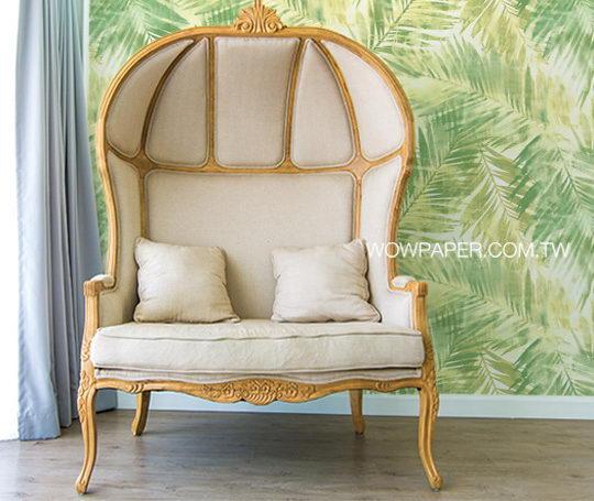 利用墙纸将家装修出热带海岛渡假风插图2