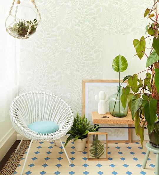 利用墙纸将家装修出热带海岛渡假风插图4