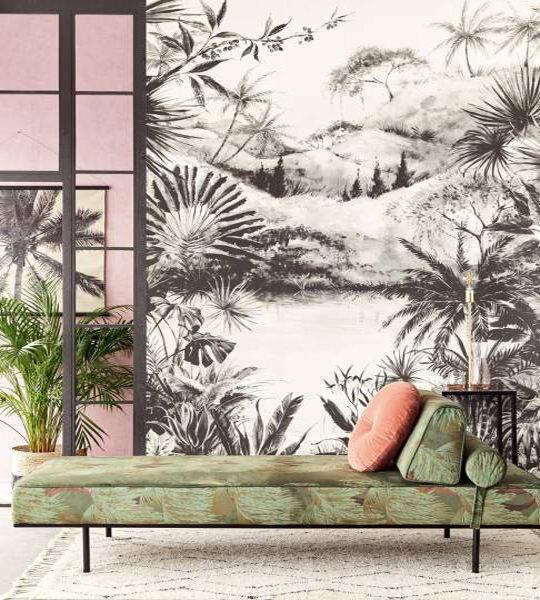 利用墙纸将家装修出热带海岛渡假风插图5