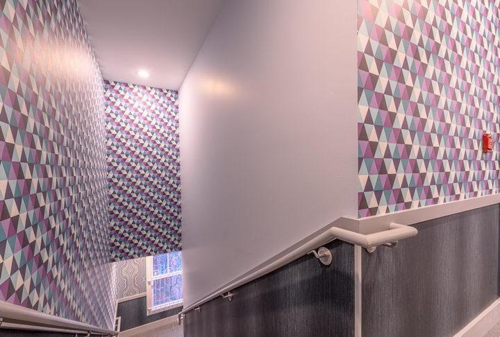 墙纸装修案例:用墙纸装修出神奇空间的美国旅馆插图10