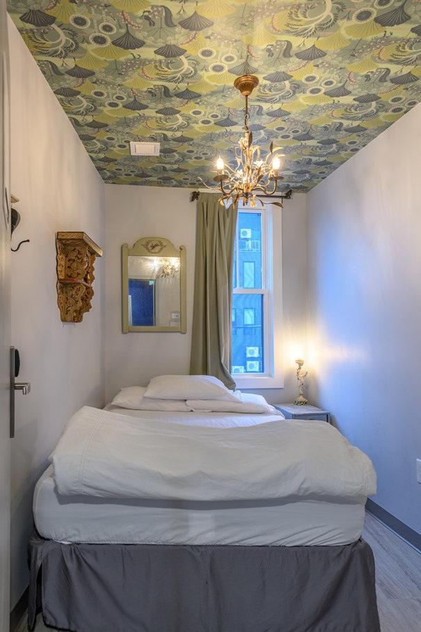 墙纸装修案例:用墙纸装修出神奇空间的美国旅馆插图3