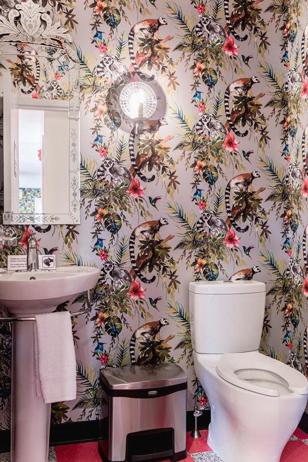 墙纸装修案例:用墙纸装修出神奇空间的美国旅馆插图6