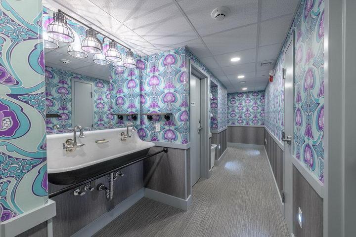 墙纸装修案例:用墙纸装修出神奇空间的美国旅馆插图8