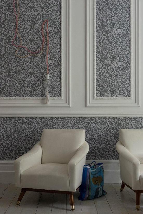 墙纸装修侧重于图案和花纹