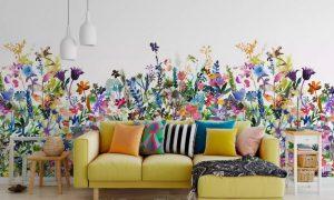 10款活泼色系的创意墙纸装修效果展示缩略图
