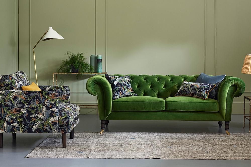 英式室内设计 切斯特菲尔德沙发(Chesterfield Sofa)