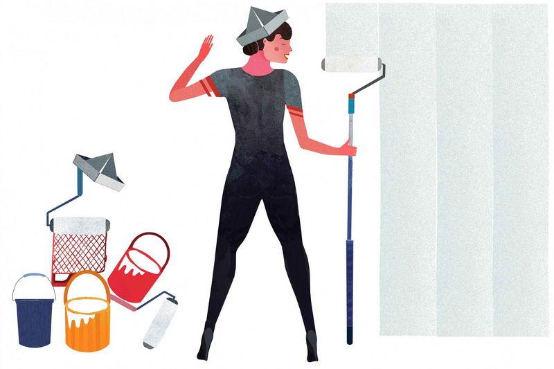 【贴墙纸流程三】如何准备墙壁表面插图2